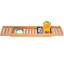 umbra aquala bamboo chrome bathtub caddy best design 2018