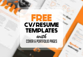 Free Creative Resume Template Extraordinary Free Resume Templates For 48 Freebies Graphic Design Junction