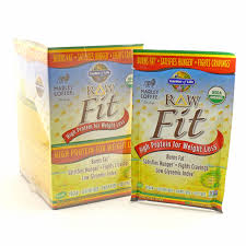 raw fit protein shake coffee packets by garden of life 1 6 ounces zoom