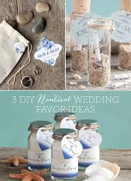 3 diy nautical wedding favor ideas navy tags labels ons beach