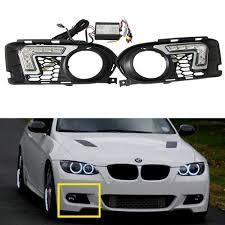 Euro Lights For Cars 2 Pcs 6 Leds 12v 12w White Euro Driving Fog Lamp Drl Daytime