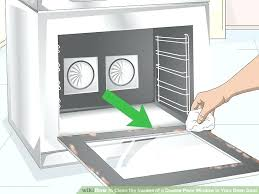 cleaning oven door image titled clean the insides of a double pane window in your oven
