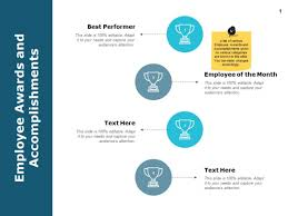 Presentation Design Templates Employee Awards And Accomplishments Ppt Powerpoint