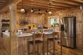 track lighting fixtures for kitchen. Log Wood Kitchen With Black Rustic Track Lighting Fixtures For I