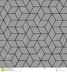 Geometric Pattern Seamless Graphic Design Stock Vector