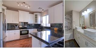 Kitchen Floor Remodel Capital Mark Granite Cabinets Flooring Gilbert Phoenix Arizona