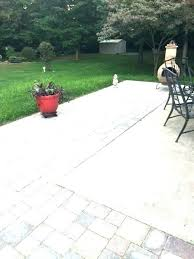 patio floor covering ideas backyard concrete slab outdoor stained diy backy