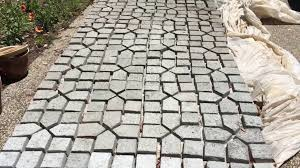 diy concrete mold patio making your own pavers from a molds concrete mortar