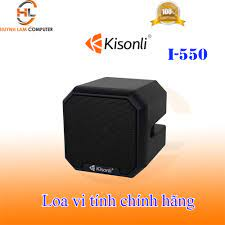 Loa vi tính Kisonli i550 tổng công suất 3W - Hãng phân phối