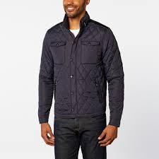 Diamond Quilted Jacket // Navy (S) - ZINOVIZO - Touch of Modern & Diamond Quilted Jacket // Navy (S) Adamdwight.com
