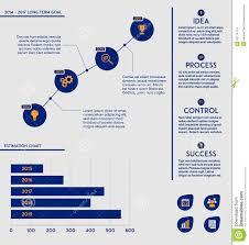 Business Template Future Goal Chart Diagram Illustration