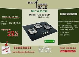 Offer On Kitchen Appliances Offer Price On Faber Kitchen Built In Hobs Online Shopping