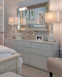 bedroom mirror with mirrored frame