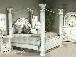 Canopy Bed Set North Shore Canopy Bedroom Set Canopy Bed Sets King ...