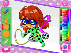 Spiderman coloring is a fun game in which you will be enjoying the task of coloring the spiderman cartoon using the various colors available in the game. Coloring Games Dollmania Com