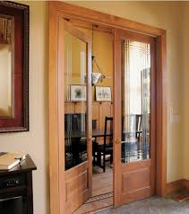 double prehung interior doors with decorative glass panels