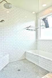glamorous subway tile bathroom floor mosaic bathroom floor tile white subway tile bathroom with built in