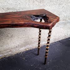 quotthe rustic furniture brings country. Live Edge Wood Slab Side Table With Carved Legs Quotthe Rustic Furniture Brings Country