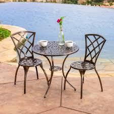 7Piece Outdoor Patio Furniture Metal Dining Set With Cushions Metal Outdoor Patio Furniture Sets
