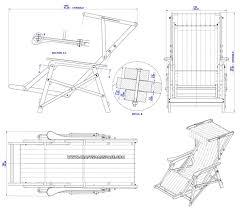 drawing furniture plans. Beach Chair Plan - Assembly Drawing Furniture Plans R