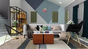 jasa desain interior bandung desain ruang tamu rumah Dago
