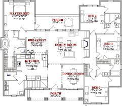 four bedroom bungalow house plans free home decor