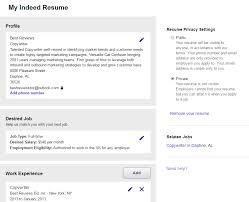 indeedcom resume resume indeed