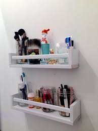 Repurpose a Spice Rack to Hold Makeup