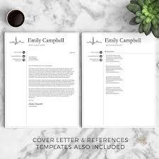 Resume Templates Nursing Enchanting Nurse Resume Template For Word Pages Medical Resume Nurse CV