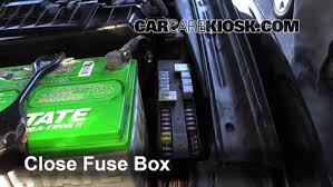 replace a fuse 1995 1999 nissan maxima 1996 nissan maxima gle 6 replace cover secure the cover and test component