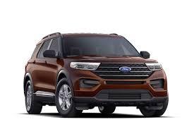 2020 Ford Explorer Color Chart 2020 Ford Explorer Xlt Suv Model Highlights Ford Com