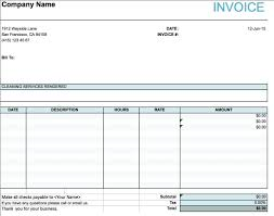Sample Service Invoice Cleaning Services Invoice Sample Invoice Template Ideas 24