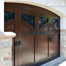 craftsman style garage doorsNewport Coast Mediterranean Style Garage Doors With Decorative