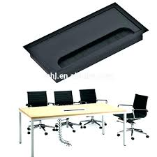 office desk cover. Computer Desk Hole Cover Cord Aluminum Alloy Square Cable . Office