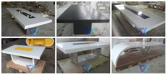 modern funky furniture. creative of funky office furniture artificial marble high glossy white modern i