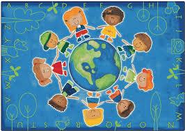 give the planet a hug rug cfk44 carpets for kids