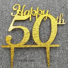 50th Anniversary Cupcake Decorations Popular 50th Anniversary Cake Toppers Buy Cheap 50th Anniversary