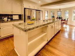 One Wall Kitchen Kitchen With Complex Granite Breakfast Nook In San Jose Ca