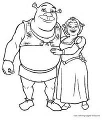 Small Picture Pictures Of Shrek Characters Colouring Pages Free Coloring Pages