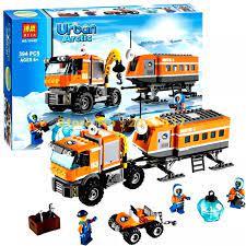 Bộ đồ chơi lego City Urban 10440- Thám hiểm cực bắc 394 khối(HÀNG XỊN SIÊU  RẺ)