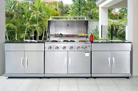 stainless steel outdoor kitchen. Stainless Steel Outdoor Kitchen Impressive Imposing Ideas Agreeable The Catalog Of W
