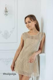 <b>Платье</b> современное вязаное крючком / Crochet <b>dress</b> / #tulipolga ...