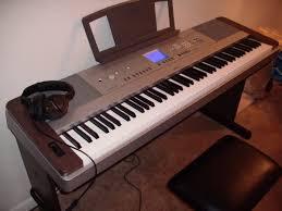 yamaha electric piano. yamaha dgx640w digital piano review electric