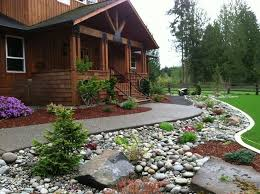 Small Picture Best 25 River rock gardens ideas on Pinterest Garden ideas