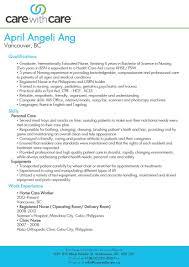 Caregiver Resume Skills Cv Resume Ideas