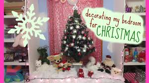 Decorate My Bedroom Decorating My Bedroom For Christmas Youtube