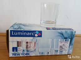 <b>Набор стаканов luminarc New</b> York 250 мл. 6 шт купить в ...
