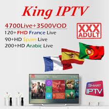 KING OTT <b>French iptv</b> Subscription for <b>France</b> Arabic Spain Portugal ...