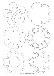 Disegno Di Mandala Con Fiori Semplici Da Colorare Disegni Da Con
