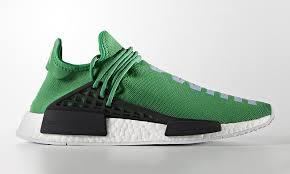 chanel x pharrell adidas. pharrell x adidas nmd \u201chuman race\u201d gets new green colorway chanel m